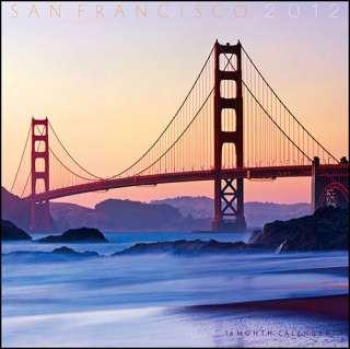 San Francisco 2012 Mini Wall Calendar 9780981775845