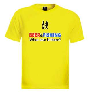 and fishing men T shirt funny humor drinking gift tee s xxl new nice
