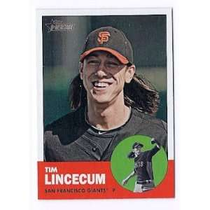 2012 Topps Heritage #106 Tim Lincecum San Francisco Giants