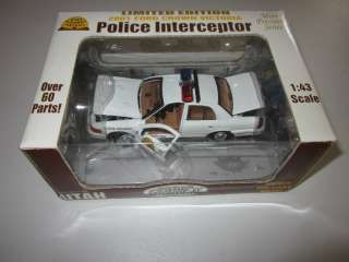 Car, Limited Edition 2001 Ford Crown Victoria, Utah Highway Patrol