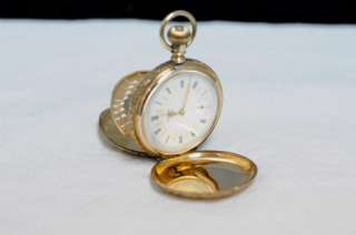 ANTIQUE 14K GOLD ELGIN NATIONAL WATCH. CO POCKET WATCH
