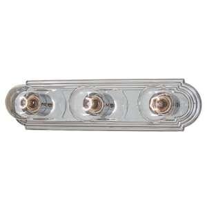 Minka Lavery 613 77 3 Light Bath Bar 3 60W G25 Chrome