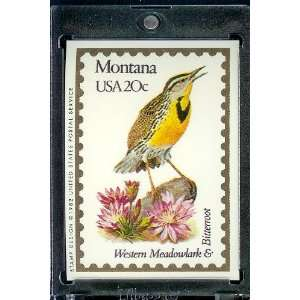 1991 Bon Air Montana Stamp Replica Trading Card #26