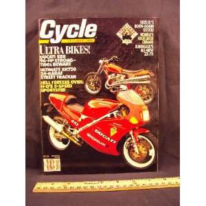 Harley Davidson XLH 1200 Sportster, & Suzuki DR650S / DR 650 S): Cycle