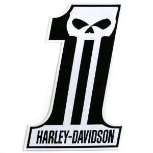 Harley Davidson Dark Custom Number One Sign