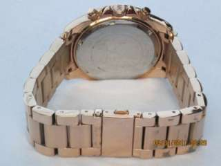 Michael Kors MK 5263 Womens Rose Gold Blair Glitz Watch