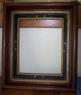 Walnut Eastlake Carved Frame/Mirror Frame