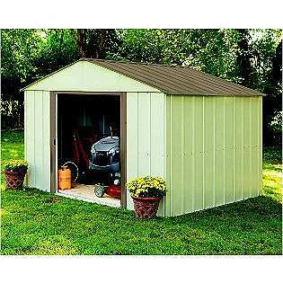 Storage Shed Mid Gable SR1010 (10 Ft. x 10 Ft.)  Arrow Buildings Lawn