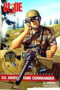 Hasbro Toys GI Joe 12 Inch US Army Tank Commander 1997