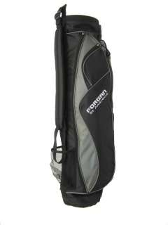 Forgan Ultra Lite Nylon Carry Golf Bag GREY & Black NEW