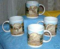 HOUSTON HARVEST PRODUCT FIELD & STREAM MUGS SET OF FOUR