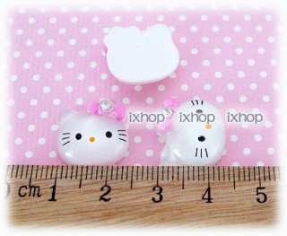 10 /12 pcs Hello Kitty Swarovski (U PICK SIZE) Resin Cabochon 7100/21