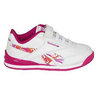 Girls Illumilace Pink/White Reebok Shoes Kids Girls