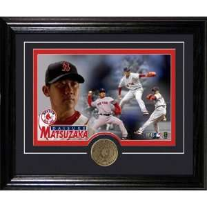 Daisuke Matsuzaka Boston Red Sox Framed Photograph with