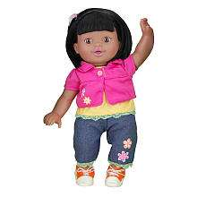You & Me Friends 14 inch Doll   African American Girl   Pink Cardigan