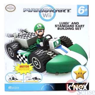 Nintendo Super Mario Kart Wii Luigi Standard Kart Building Set / Lego