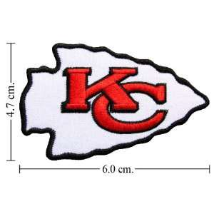 Kansas City Chiefs Patches Football Patch Logo Iron on