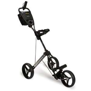 BAGBOY Express Auto Golf Three Wheel Push Pull Cart