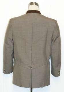 BROWN ~ WOOL Men GERMAN Hunting Western Riding Dress Suit JACKET Coat