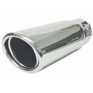 5105 Performance Exhaust Tip Exhaust Tip stainless steel Oval 3X 3 1/2