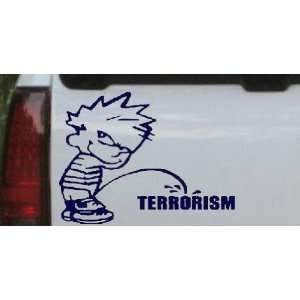 on Terrorism Military Car Window Wall Laptop Decal Sticker Automotive