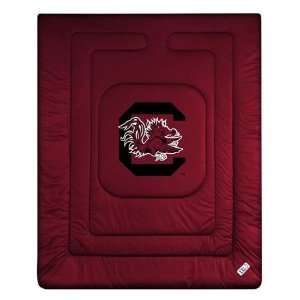 Carolina Fighting Gamecocks Locker Room Full/Queen Bed Comforter (86