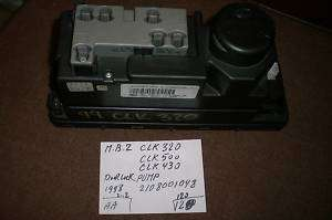 MERCEDES BENZ CLK320 CLK500 DOOR VACCUM PUMP 2108001048