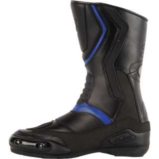 CRUISER TOURING LEATHER WATERPROOF MOTORBIKE MOTORCYCLE BOOTS