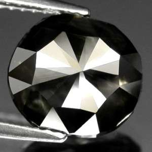 56Ct. Huge Fancy Deep Grey Natural Diamond