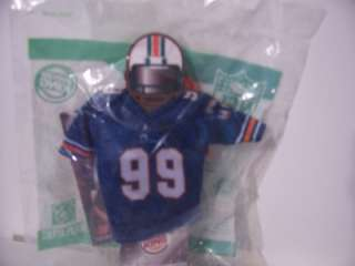 Burger King Toy~NFL Football Jersey~Miami #99 ~NIP