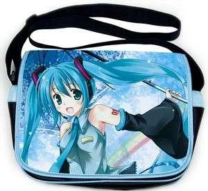 Vocaloid Hatsune Miku Messenger Shoulder School Bag 09
