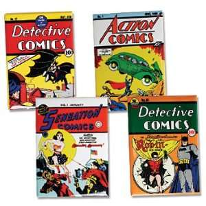 DC Comics Superhero Retro Covers Magnet (Set of 4