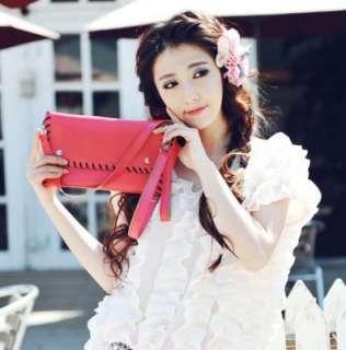 Fashion Lady Women Envelope Clutch Chain Purse HandBag Shoulder Hand