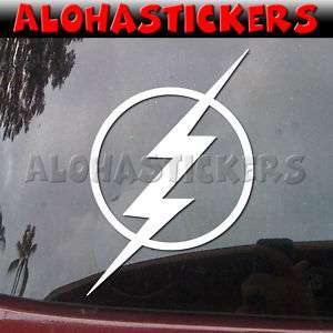 THE FLASH Logo Vinyl Decal Car Window Comic Sticker E67