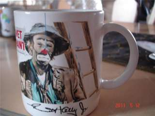 EMMET KELLY CLOWN COLLECTION WET PAINT MUG BY FLAMBR