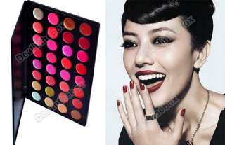 Wonderful 32 Color Lips Gloss Lipsticks Makeup Cosmetics Palette