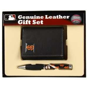 San Francisco Giants Leather Tri Fold Wallet & Comfort