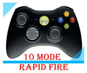 xbox 360 Modded Rapid Fire Modified Controller NW3 GOW3 Great Xmas