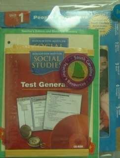 Teacher Resource CD ROM (Houghton Mifflin Social Studies Sc