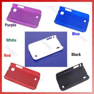 Plastic Hard Skin Protector Case Cover Guard For Samsung I809