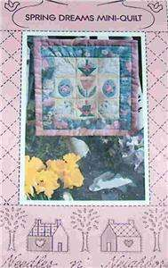get vendio gallery now free spring dreams easter mini quilt pattern