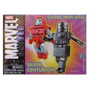 Marvel Minimates Classic Iron Man and Silver Centurion Toys & Games