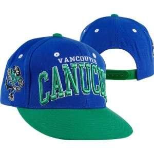 42af395a887 ... Canucks Royal Green Super Star Snapback Hat  Sports   Outdoors