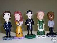 Dark Shadows Bobbleheads Complete Set NEW