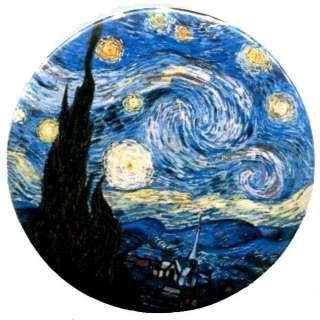 Vincent Van Gogh painting post impressionism art pin badge pinback