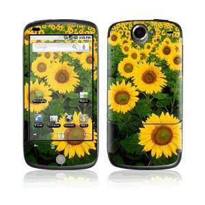 Sun Flowers Decorative Skin Cover Decal Sticker for HTC Google