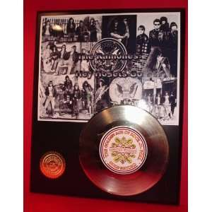Gold Record Outlet Ramones 24KT Gold Record Display LTD