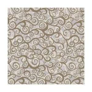 Wild World Fabric 45 15 Yards 100% Cotton D/R Surf/Stone: Arts