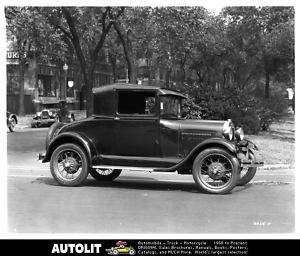 1928 Ford Model A Business Coupe Factory Photo