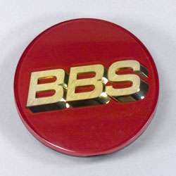Bbs Center Cap Gold Letters 3 Tab 56.24.099 70mm   Single Cap